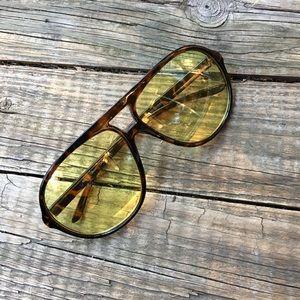 Forever 21 Tinted Aviator Sunglasses
